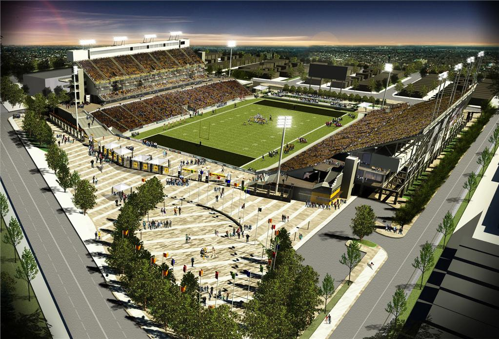 Hamilton Pan Am Soccer Stadium.