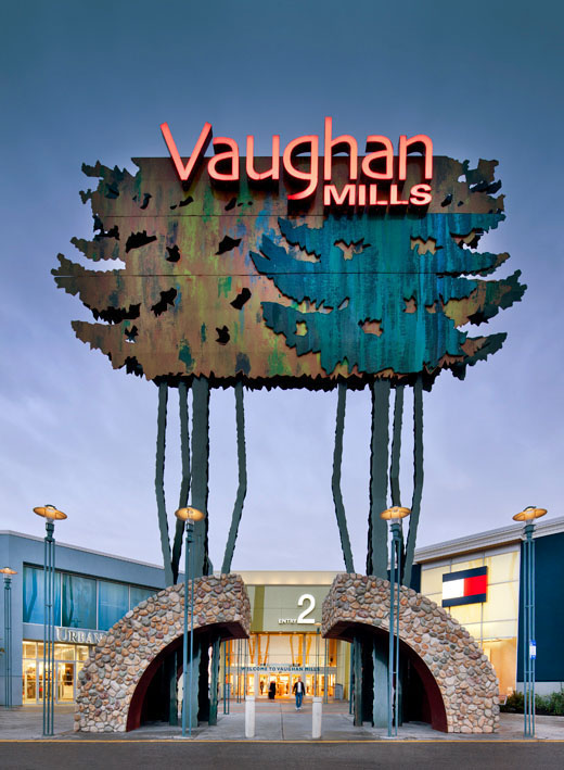 Vaughan Mills. (Image: CNW Group/IVANHOE CAMBRIDGE)