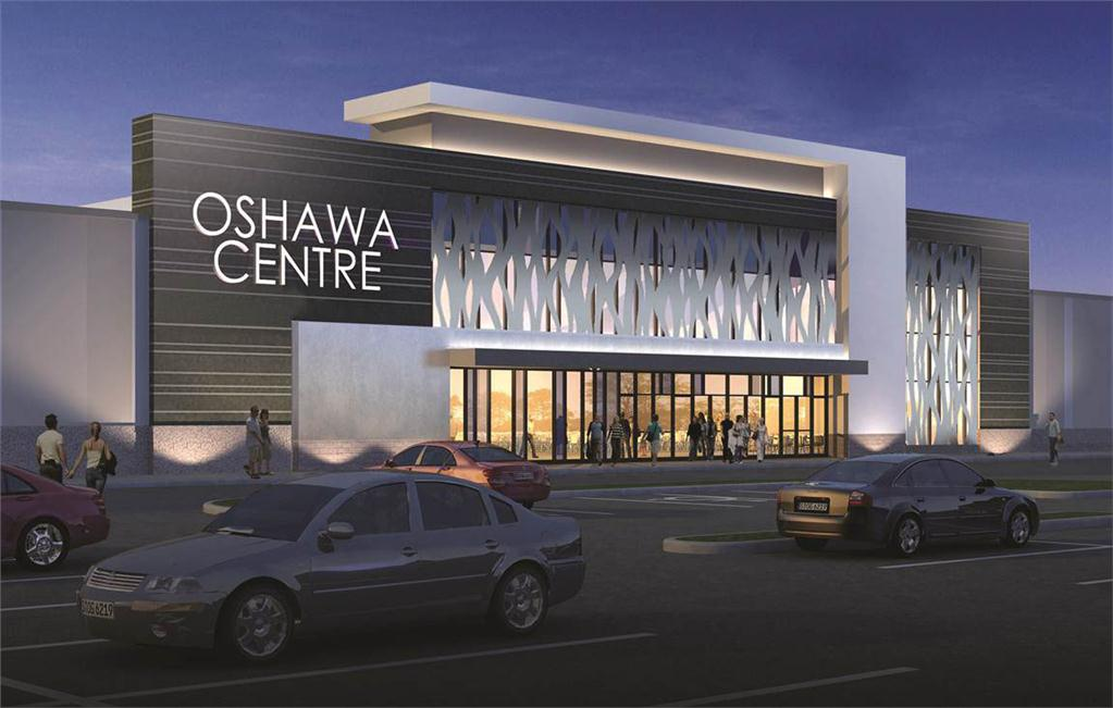 Ivanho Cambridge announced a $230-million redevelopment and expansion project at Oshawa Centre.