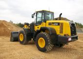 WA270-7 wheel loader from Komatsu America Corp.