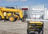 Subarus RGV12100 industrial generator.