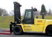 Hyster Companys H360-36/48HD heavy-duty lift truck.