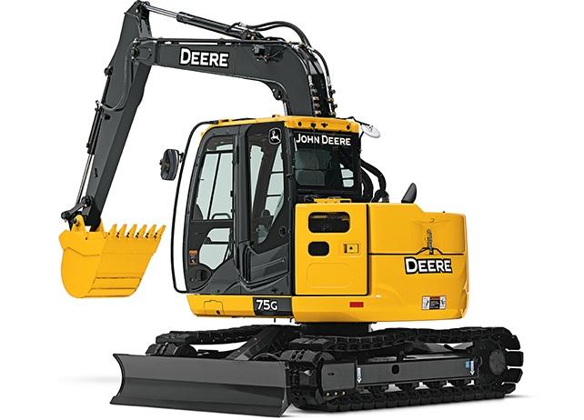 John Deere's 75G excavator