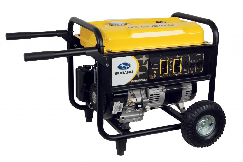 Subaru's SGX5000 generator.