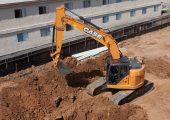 CASE's new minimum-swing radius excavators