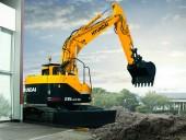 Compact radius Interim Tier 4 excavators