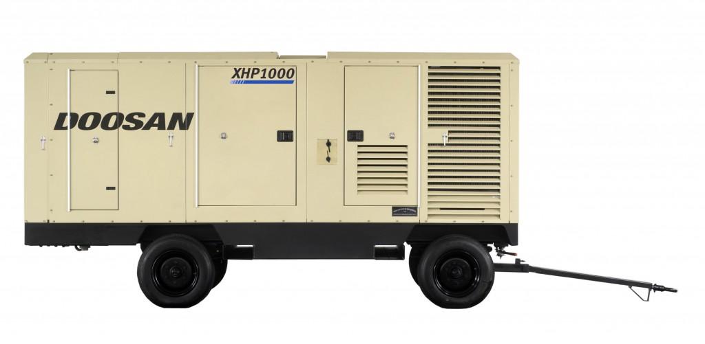 Doosan's XHP1000 portable air compressor.