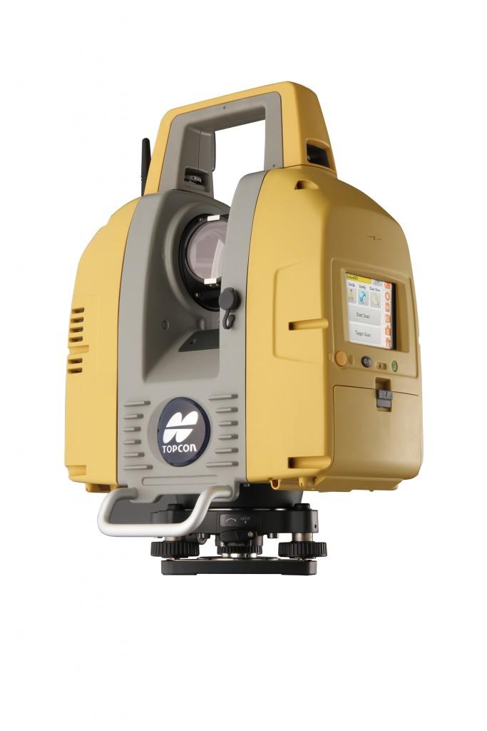 Topcon's GLS-2000 laser scanner.