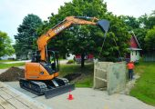CASE Construction Equipments CX75C SR.