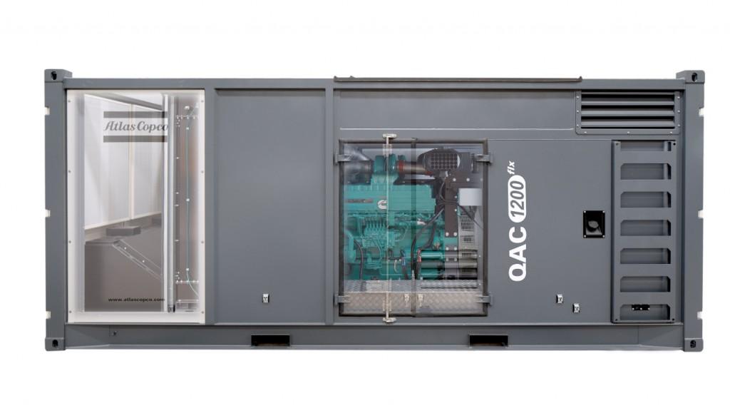 Atlas Copcos QAC 1200 1MW generator.