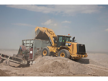 Cat has introduced four new wheel loaders.