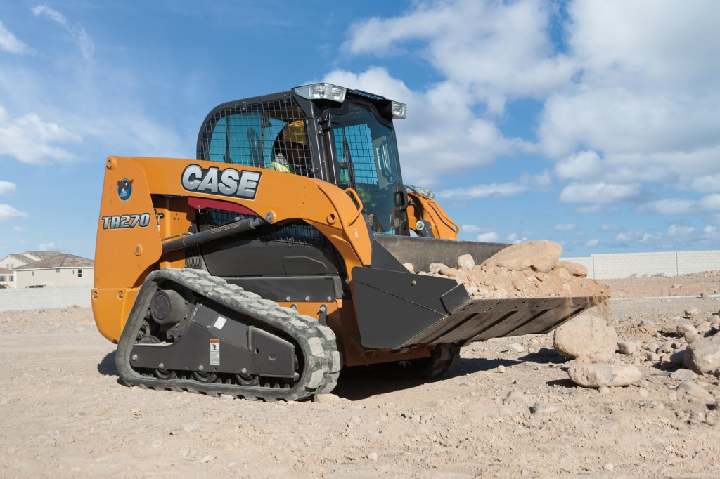 CASE's new compact track loader.
