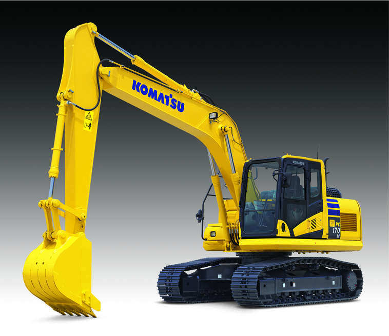 The PC170LC-10 is Komatsu America Corp.s newest addition to its dash-10 series