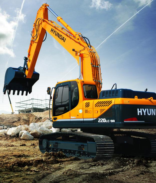 The R220LC-9A by Hyundai Construction Equipment Americas Inc.