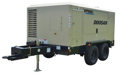 Doosan Portable Powers VP900e portable air compressor.