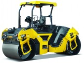 BOMAGs BW141AD-5 tandem vibratory roller.