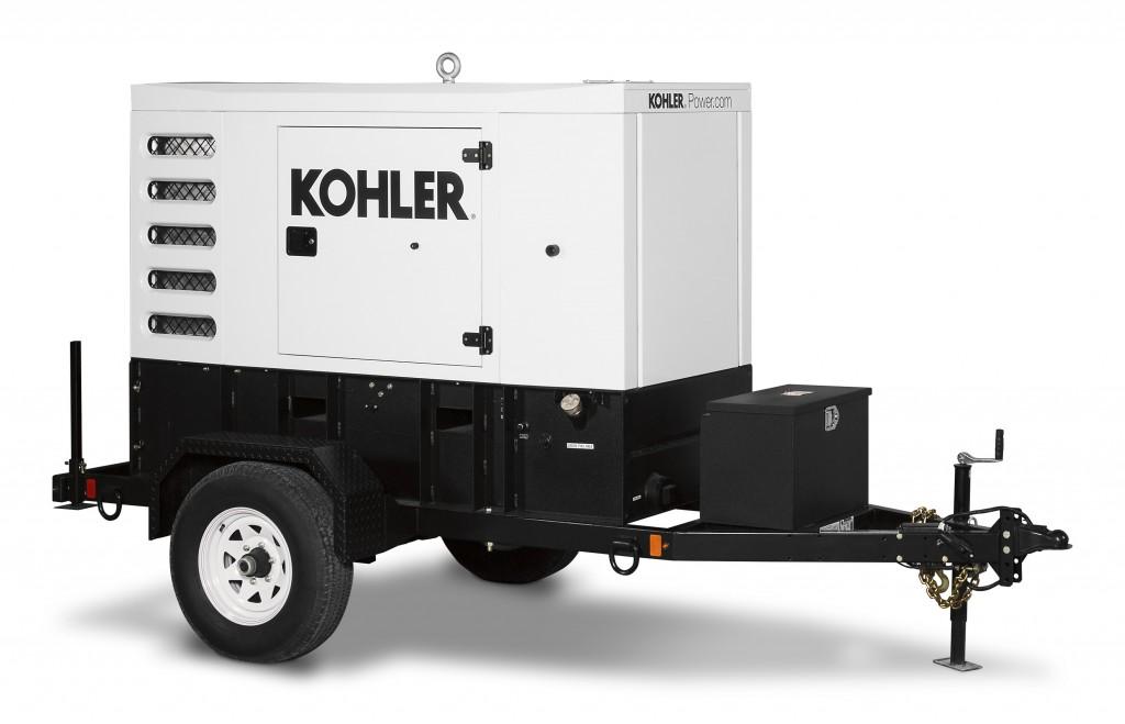 Kohler Power Systems new line of mobile generators.