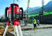 Hilti PR 2-HS rotating lasers.