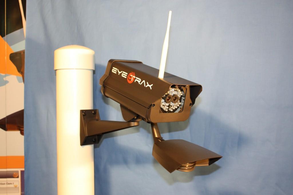 The wireless Eye Trax Ranger Series Construction Camera