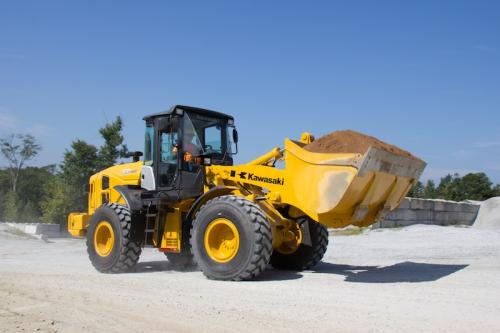 Kawasaki's 70Z7 wheel loader.