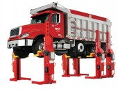 Rotary Lifts Mach series mobile columns.