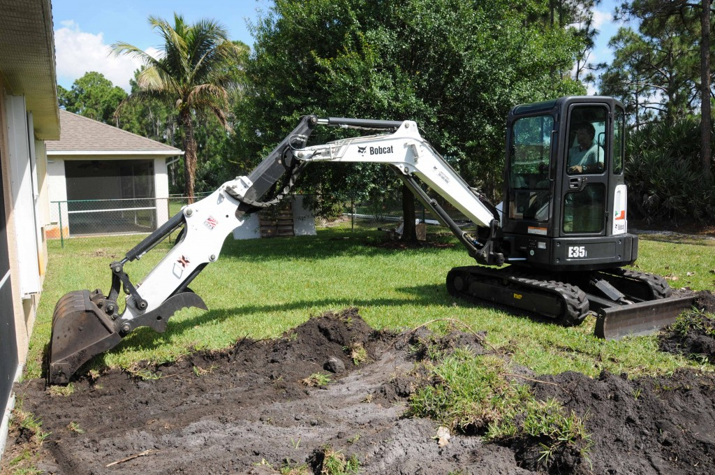 Bobcat Company's E35i excavator.