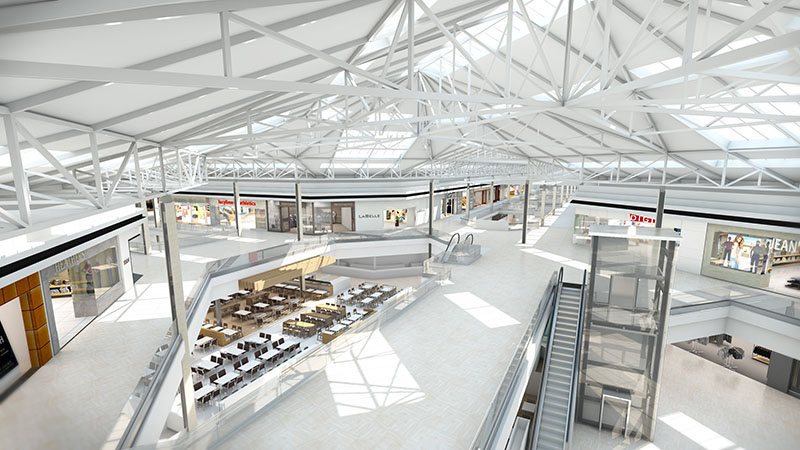 Les Promenades St-Bruno unveils $49M renovation plans (Source : Cadillac Fairview) (CNW Group/Cadillac Fairview Corporation Limited.