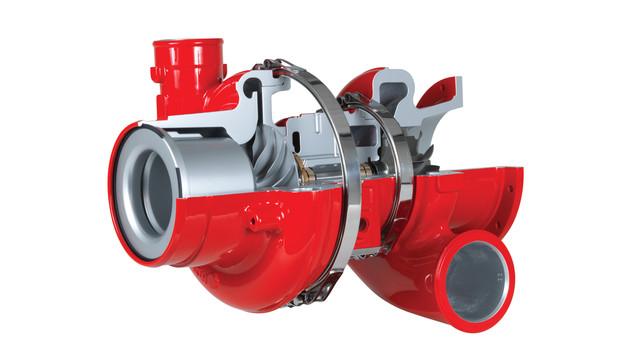 Cummins Series 900 turbochargers.