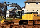 John Deere's 250G LC excavator.