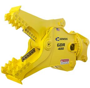The GDR400 concrete processor from Genesis Attachments.