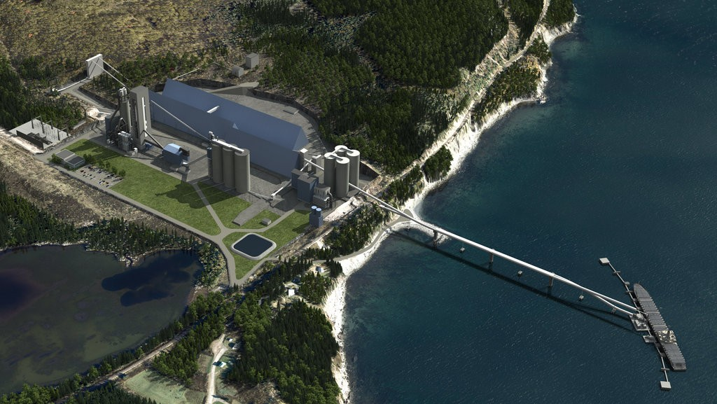 The Port-Daniel cement plant in Quebec's Gasp region has secured a $360 million loan from the National Bank of Canada.