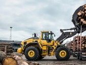 Volvo Construction Equipment's L220H wheel loader.