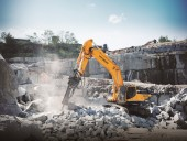 Hyundai Construction Equipment Americas' hydraulic breakers.