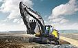 Volvo Construction Equipments EC350E crawler excavator.