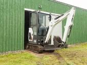 Bobcat Company's ZTS E20 compact excavator.