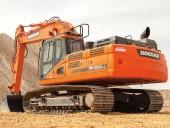Doosan's DX300LC-5 excavator.