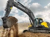 The EC480E crawler excavator by Volvo Construction Equipment.