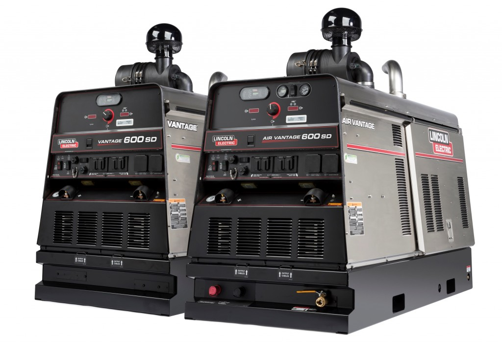 Lincoln Electric's Vantage 600 SD engine-driven welder.