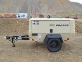 Doosan's P250/HP185 portable air compressor.