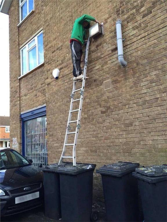 Submitted photo to the Idiots on Ladders contest.