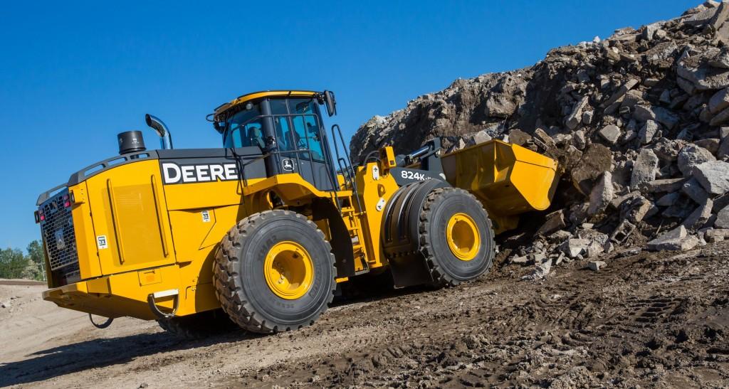 John Deere's 824K-II wheel loader.