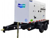 Doosan Portable Powers G125WCU mobile generator.