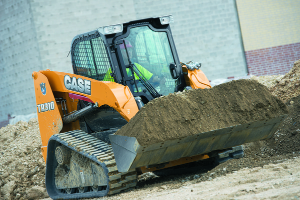 Case's TR310 Alpha Series compact track loader.