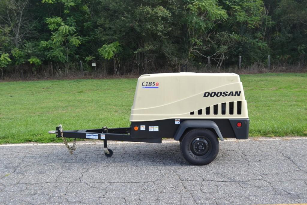Doosan's C185 portable air compressor.