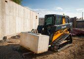 John Deere's 329E compact track loader.