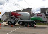 Terex's FD4000 front discharge mixer truck.