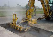 E-Z Drill's Model 210 concrete drill attachments.
