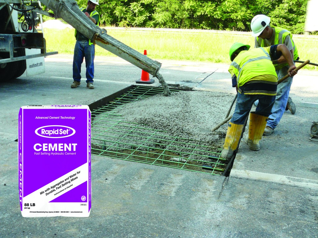Rapid Set cement products.