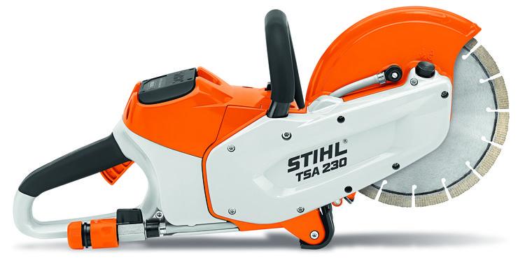 Stihls TSA 230 battery cut-off saw.