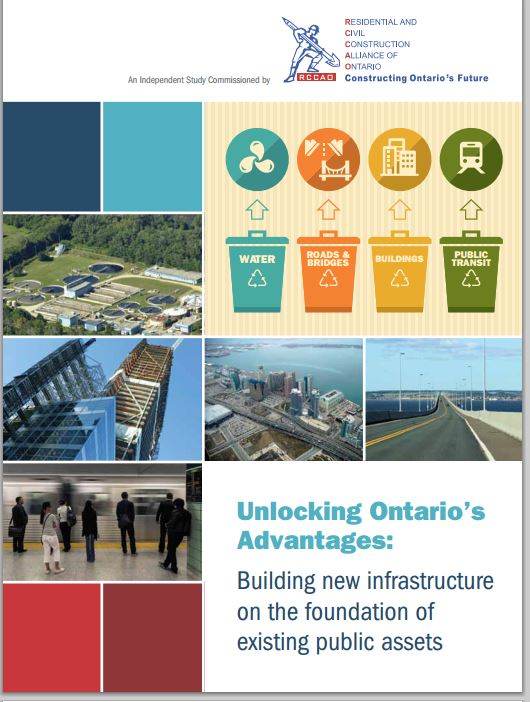 RCCAO report offers infrastructure funding options